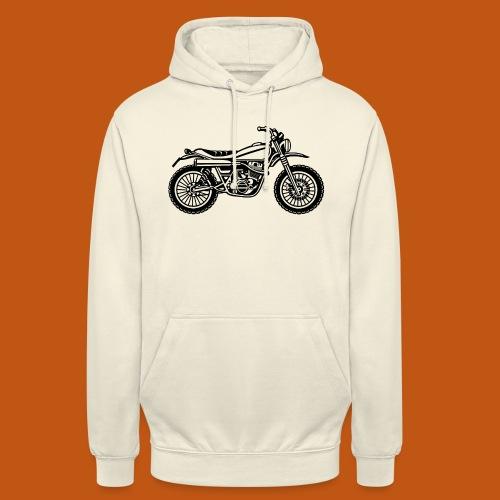 Motocross Enduro Motorrad 01_schwarz - Unisex Hoodie