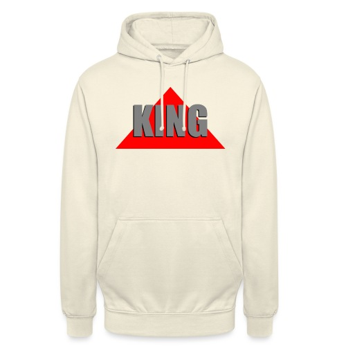 King, by SBDesigns - Sweat-shirt à capuche unisexe