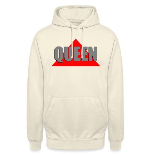Queen, by SBDesigns - Sweat-shirt à capuche unisexe