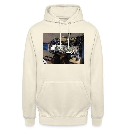 Motor tröja - Luvtröja unisex