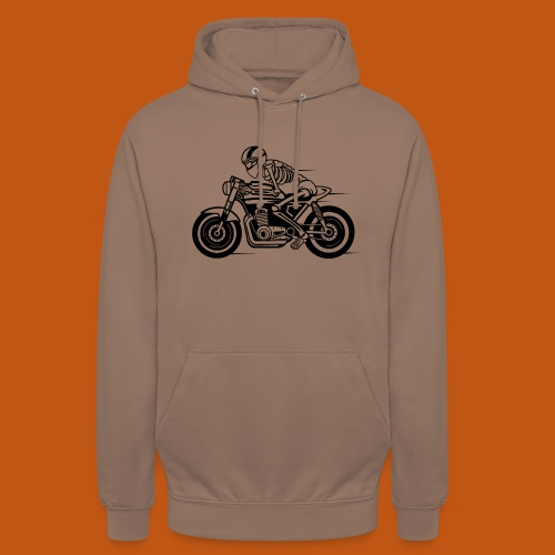 Cafe Racer Motorrad 05_schwarz - Unisex Hoodie