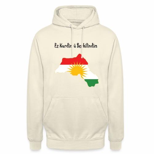 Ez kurdim u serbilindim - Luvtröja unisex