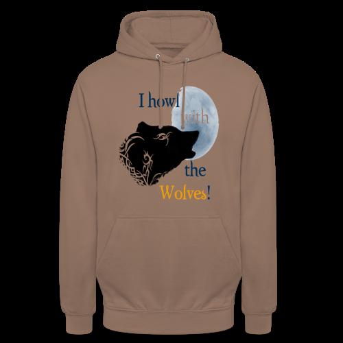 Wolf howl - Unisex Hoodie