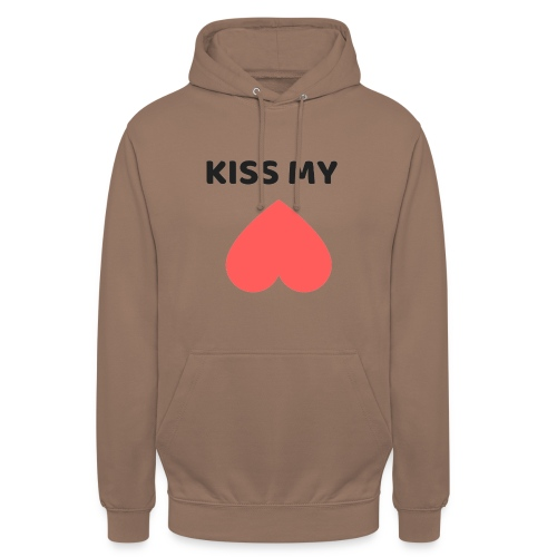 Kiss My Ass - Bluza z kapturem typu unisex
