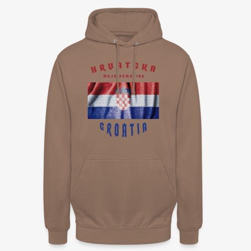 Croatia Hrvatska Flag - Unisex Hoodie