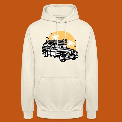 Chevy Cadilac Woodie / Oldtimer Kombi 01_3c - Unisex Hoodie