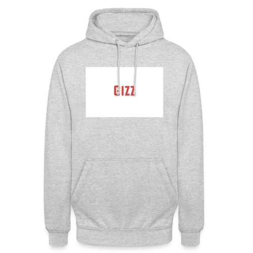 Gizz rood - Hoodie unisex