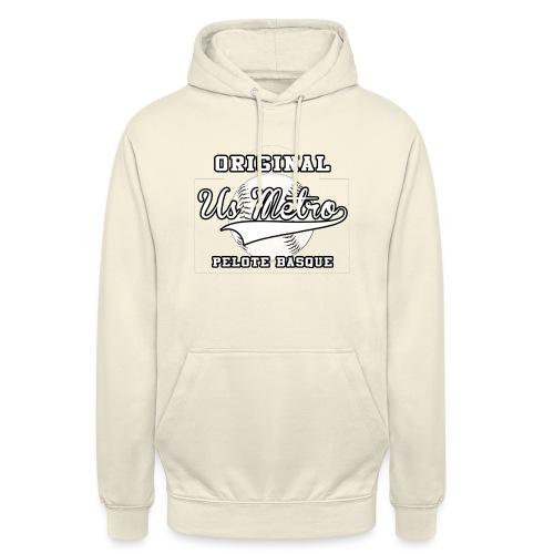 origiinalUSMETRO2 png - Sweat-shirt à capuche unisexe