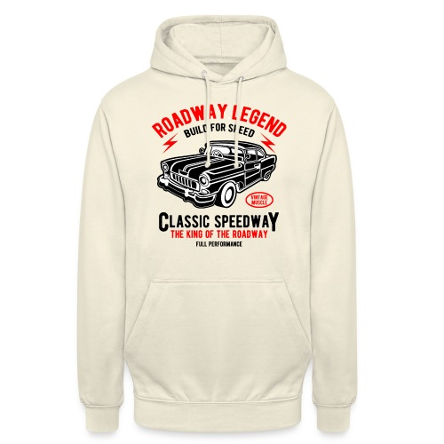 Roadway Legend Build for Speed - Hoodie unisex