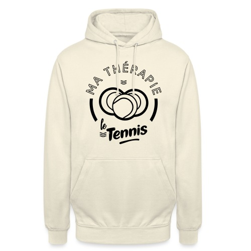 Ma therapie le tennis - Sweat-shirt à capuche unisexe