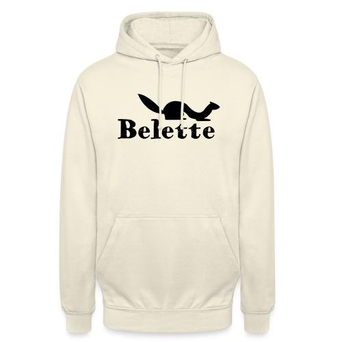 T-shirt Belette simple - Sweat-shirt à capuche unisexe