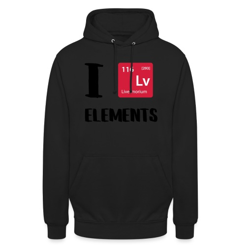 I love Elements - Unisex Hoodie