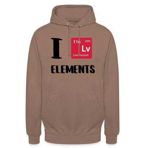 I love Elements - Unisex Hoodie