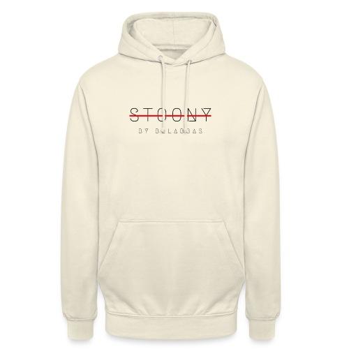 stoony by belabbas - Sweat-shirt à capuche unisexe