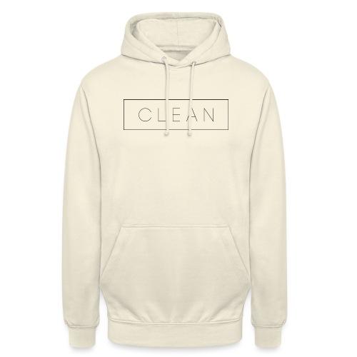 Clean - Unisex Hoodie