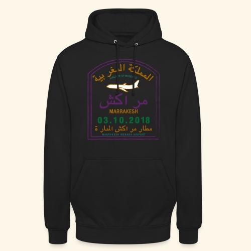 marrakeche - Sweat-shirt à capuche unisexe
