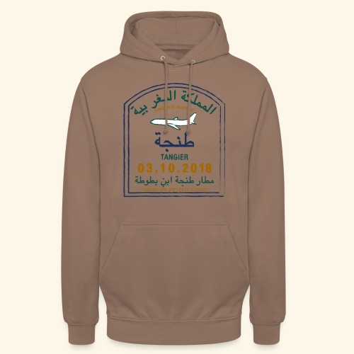 Tanger - Sweat-shirt à capuche unisexe