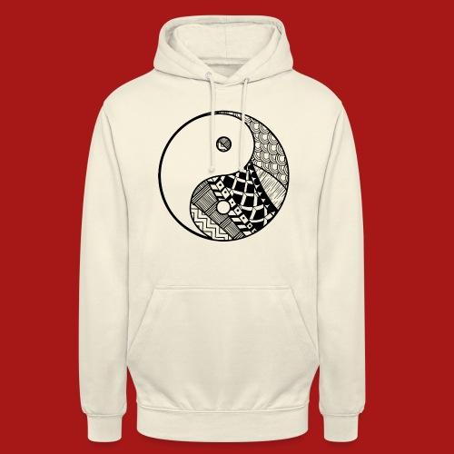 Decorative-Yin-Yang - Hættetrøje unisex