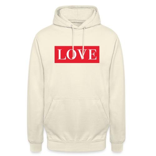 Red LOVE - Unisex Hoodie