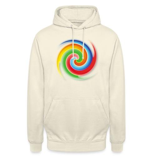 deisold rainbow Spiral - Unisex Hoodie