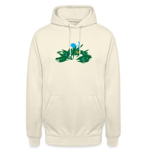 Paon Style - Sweat-shirt à capuche unisexe