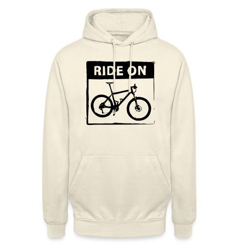 Ride On MTB 1 Color - Unisex Hoodie
