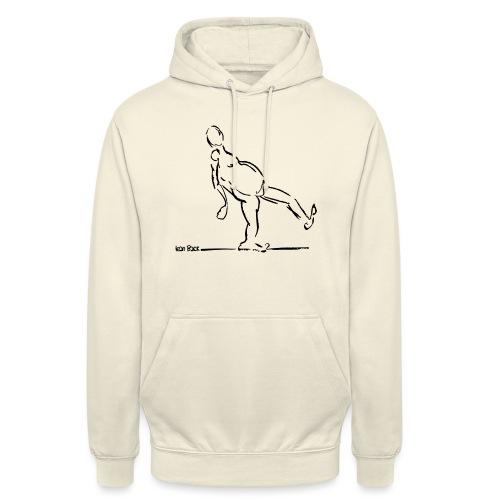 Lean Back Doodle - Unisex Hoodie