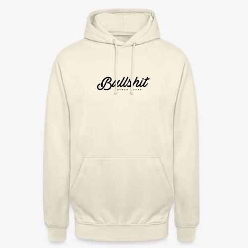 Bullshit depuis 1999 noir - Sweat-shirt à capuche unisexe