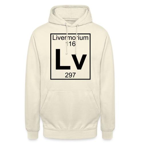 Livermorium (Lv) (element 116) - Unisex Hoodie