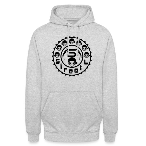 rawstyles rap hip hop logo money design by mrv - Bluza z kapturem typu unisex
