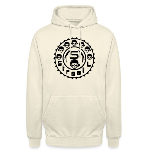 rawstyles rap hip hop logo money design by mrv - Bluza z kapturem typu unisex