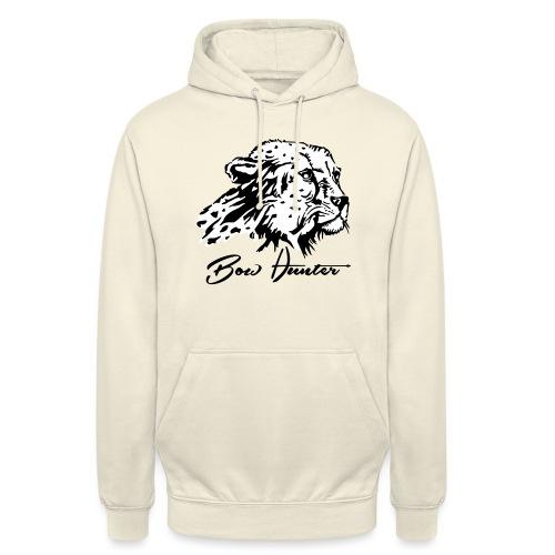 Bow Hunter Gepard 2 färbig - Unisex Hoodie