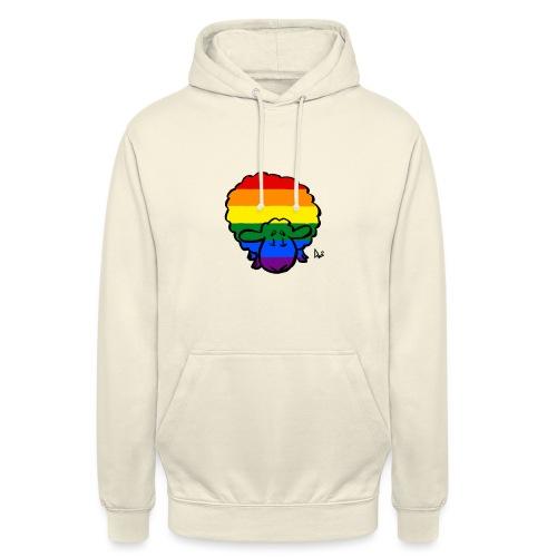 Regenbogen-Stolz-Schafe - Unisex Hoodie