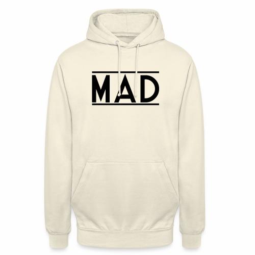 MAD - Felpa con cappuccio unisex