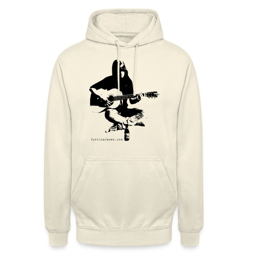 Cynthia Janes guitar BLACK - Unisex Hoodie