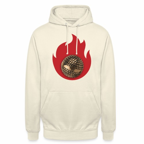 petanque fire - Sweat-shirt à capuche unisexe