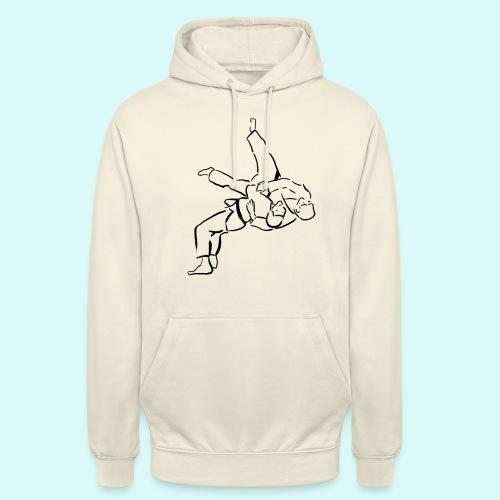 judo - Sweat-shirt à capuche unisexe