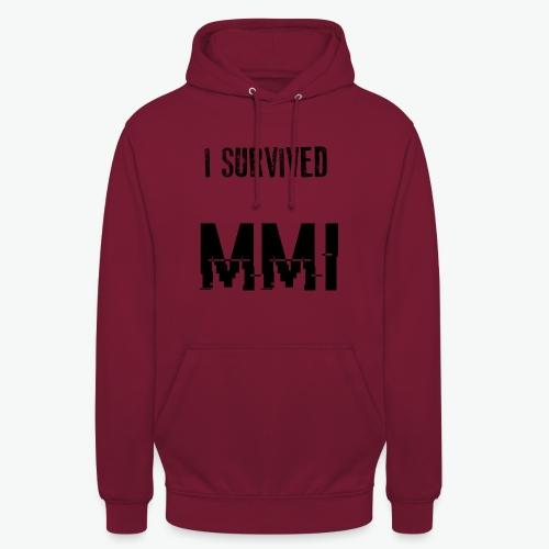 MMI SURVIVOR - Sweat-shirt à capuche unisexe