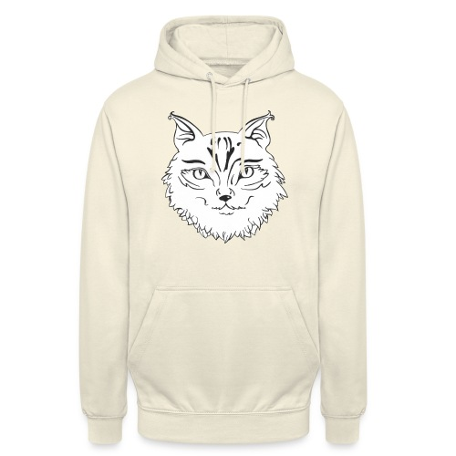 Dilo le renard chat - Sweat-shirt à capuche unisexe