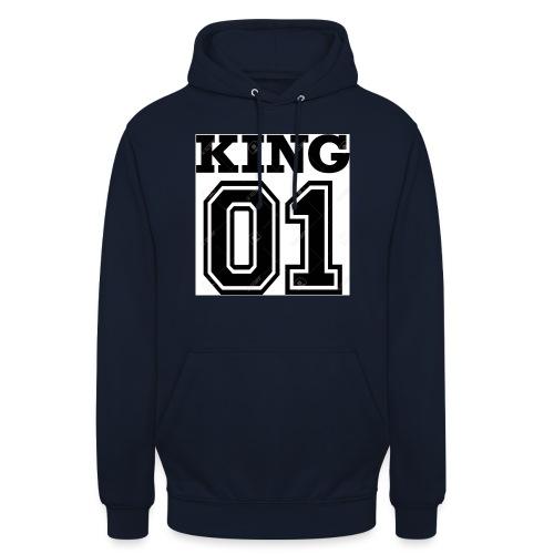 King 01 - Sweat-shirt à capuche unisexe
