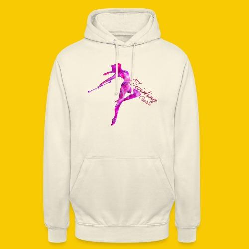 TWIRLING-BATON - Sweat-shirt à capuche unisexe