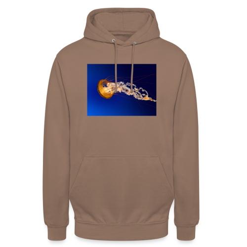 Jellyfish - Felpa con cappuccio unisex