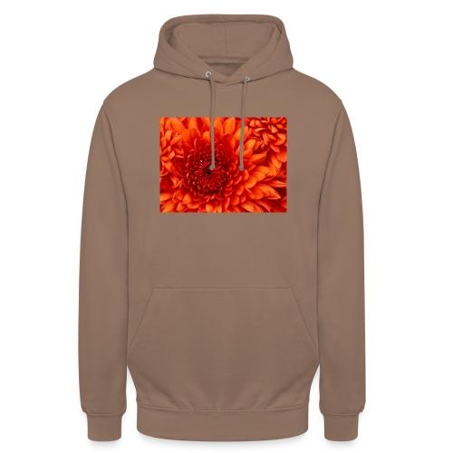 Chrysanthemum - Felpa con cappuccio unisex