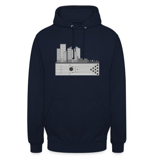 L'usine a Boule - Sweat-shirt à capuche unisexe