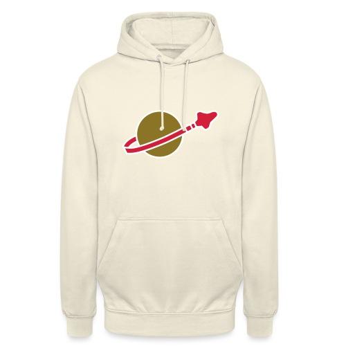 Classic Space - Sweat-shirt à capuche unisexe
