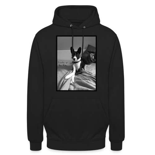 Piratethebasenji - Sweat-shirt à capuche unisexe