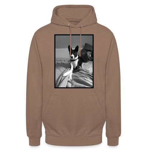 Piratethebasenji - Sweat-shirt à capuche unisexe