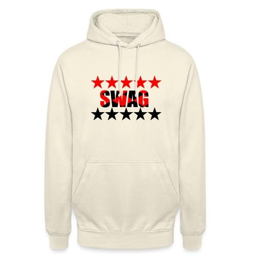 SWAG - Felpa con cappuccio unisex