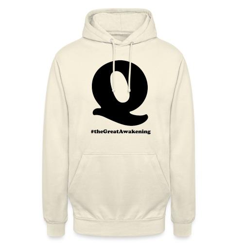 """Q Anon #theGreatAwakening - Huppari """"unisex"""""""