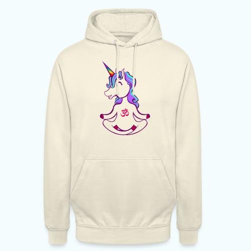 Unicorn meditation - Unisex Hoodie